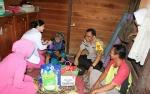 Polres Katingan Berikan Layanan Kesehatan Kepada Warga Kurang Mampu