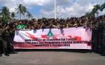 Banser NU Kalteng Deklarasi Lawan Hoaks dan Dukung Pilkada Damai