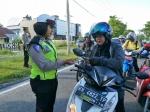 Tidak Punya Kelengkapan Surat Berkendara, Puluhan Pemotor Ditilang