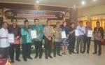 Lima Paslon Bupati dan Wakil Bupati Katingan Siap Laksanakan Pilkada Damai
