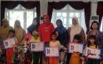 Diberi Sepeda, 10 Anak Pekikkan Terima Kasih untuk Bunda PAUD Kalteng