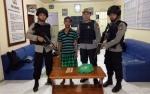 Anggota Polsek Dusun Hilir Tangkap Pencuri Sarang Burung Walet