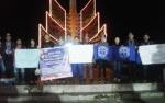 Mahasiswa dan Anggota Ormas di Kapuas Gelar Doa Bersama dan Nyalakan Lilin