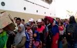 500 Penumpang Berangkat Dari Pelabuhan Sampit ke Semarang