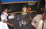 Dinas Perhubungan Kotim Uji Kelayakan Angkutan di Terminal Bus Patih Rumbih