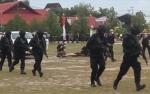 Kapolri Saksikan Pertunjukan Personel Polda Kalteng Tangani Teroris