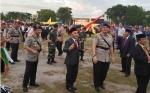 Kapolri dan Gubernur Manasai Bersama usai Peresmian Penaikan Tipe Polda Kalteng