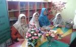 Dinas Perpustakaan Kapuas Adakan Kelas Prakarya Buat Bunga Pakai Sabun
