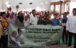 Zakat Harta H Abdul Rasyid AS Berupa 250 Ton Beras Mulai Tersebar di Lamandau