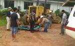 Kasat Reskrim Polres Kotim Cek Lokasi Kecelakaan Kerja PT BHL