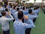 ASN Barito Utara Peringati Hari Lahir Pancasila