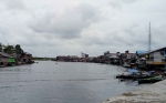 Hati-Hati! Buaya Kerap Muncul di Sungai Jelai