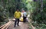Desa Banyu Landas Gunakan DD dan ADD Tahap Satu Untuk Bangun Jembatan Usaha Tani