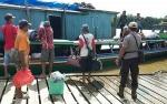 Kapolres Barito Utara Imbau Penumpang Kapal Jaga Keamanan