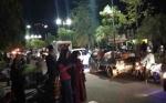 Ratusan Kendaraan Meriahkan Pawai Takbiran di Sampit