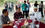 Bupati Gumas Kunjungi Pejabat Rayakan Idul Fitri