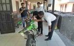 Polres Barito Utara Ciduk Tersangka Pencurian KLX 150 Bermodalkan Rekaman CCTV