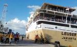 H+3 Lebaran di Pelabuhan Panglima Utar Kumai, Arus Balik Belum Ada Lonjakan