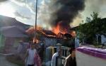 Tiga Rumah di Palangka Raya Ludes Terbakar
