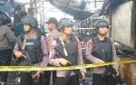 Polisi Disiagakan di Lokasi Kebakaran Kompleks Pasar Besar Palangka Raya