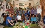 Jajaran Pemkab Barito Utara Silaturahim ke Mantan Bupati