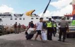 Arus Balik di Pelabuhan Kumai Masih Terlihat Ramai