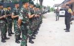 Mau Didemo, Ratusan Personel Jaga Kantor KPU dan Panwaslu Palangka Raya
