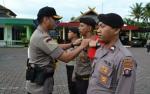 14 Personel Polres Barito Utara Naik Pangkat
