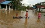 Rumah Warga Kelurahan Tampang Tumbang Anjir Mulai Terendam