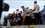 Tabur Bunga di Pelabuhan Panglima Utar Untuk Peringati Hari Bhayangkara ke-72
