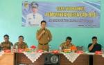 Bupati Barito Utara Buka Rapat Koordinasi Pemerintah Desa dan BPD Se-Gunung Timang