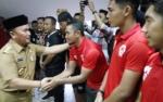 Menang Kontra PSS Sleman, Gubernur Datangi Pemain Kalteng Putra