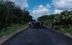 Hore, Jalan Desa Tahai Jaya-Tahai Baru Diaspal