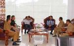 Bupati Nadalsyah Konsultasi dengan BPK RI Perwakilan Provinsi Kalteng