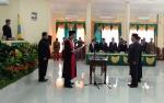 Budi Rahmat Resmi Dilantik Sebagi Wakil Ketua I DPRD Lamandau