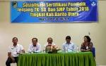 Dinas Pendidikan Barito Utara Gelar Sosialisasi Sertifikasi Pendidik Jenjang TK, SD, Dan SMP