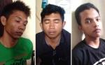 Ini Penampakan Tiga Sekawan Komplotan Maling Walet di Baamang