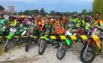 Wakil Bupati Katingan Terpilih Salurkan Hobinya Ngetrail