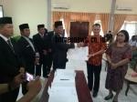 KPU Gunung Mas Tetapkan Jaya S Monong-Efrensia LP Umbing Sebagai Bupati dan Wakil Bupati Terpilih