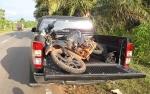 Motor Tabrak Mobil, IRT Patah Tulang Paha