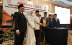 KPU Resmi Tetapkan Fairid-Umi Sebagai Wali Kota dan Wakil Wali Kota Palangka Raya