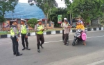 UPT-PPD Samsat dan Satlantas Sukamara Gelar Razia Gabungan