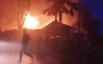 Ini Video Kebakaran di Jalan Hasanuddin Pangkalan Bun