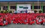 Seperti Ini Acara CBI Group Goes To School di SMK 1 Pangkalan Bun