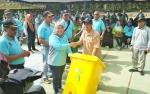 Ini Dia Acara Penyerahan 300 Tempat Sampah dari SSMS untuk Pemkab Kotawaringin Barat