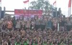 Ratusan Peserta Semarakkan Apel Harmoni Indonesia 2018 di Gunung Mas