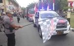 Kapolda Kalteng Lepas Keberangkatan Bantuan untuk Korban Gempa di Lombok NTB