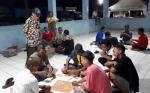 Warga Pelabuhan Rambang Sambut Kemeriahan HUT ke 73 Kemerdekaan RI dengan Lomba Domino