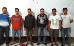 Jajaran Polsek Dusun Tengah Amankan Enam Penagih Utang