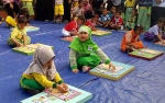 DKP Sukamara Inginkan Anak Usia Dini Gemar Kunjungi Perpustakaan